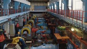 Mekanisk fabrik för återanvändning för vattenrening Fabrik med utrustning