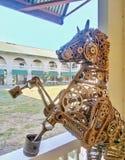 mekanisk häst arkivfoto