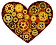 Mekanisk hjärta Royaltyfri Foto