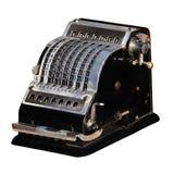 mekanisk räknemaskin arkivfoto
