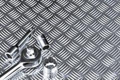 mekanisk stickkontakt för bakgrund Royaltyfri Fotografi