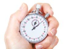 mekanisk stopwatch Arkivbilder
