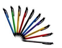 mekaniska blyertspennor fotografering för bildbyråer