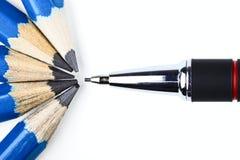 mekaniska blyertspennor för lead Fotografering för Bildbyråer