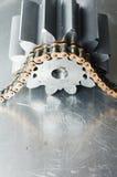 mekaniska delar för drivkraft Arkivfoto