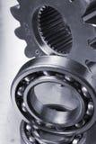 mekaniska delar för idé Arkivfoto
