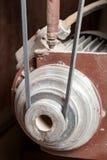 Mekaniskt drivande kugghjul för bälte royaltyfria bilder