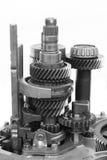 mekaniskt kugghjul Fotografering för Bildbyråer