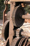 mekaniskt kugghjul arkivfoto