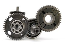 mekaniskt kugghjul Arkivbild