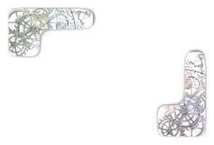 Mekaniskt motiv stock illustrationer