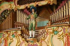 mekaniskt musikorgan royaltyfri foto