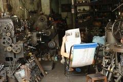 Mekaniskt seminarium Cambodja arkivfoto