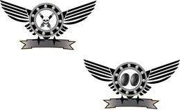 Mekaniskt symbol Royaltyfri Bild