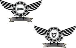 Mekaniskt symbol Arkivfoton