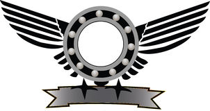 Mekaniskt symbol Royaltyfri Foto