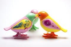 Mekaniskt urverk för fågelbarn` s royaltyfria bilder