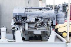Mekanism för gasborrandemaskin royaltyfri bild