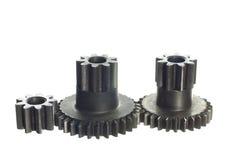 Mekanism med cog-wheels Royaltyfri Foto