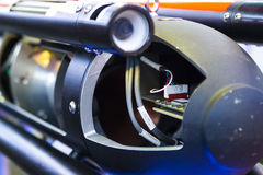 mekanismmissilwarhead Royaltyfri Fotografi