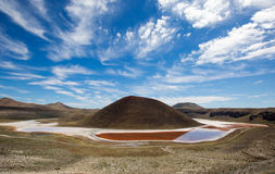 Meke crater lake Stock Images