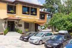 Mekhana - restaurante nacional en el centro de Koprivshtitsa, Bulgaria Imagen de archivo libre de regalías
