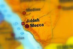 Mekka oder Makkah, Saudi-Arabien lizenzfreie stockfotos