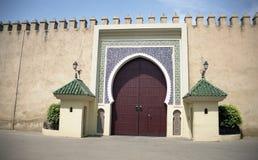 Meknes, φρούριο Στοκ Εικόνες