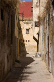 Meknes ally Royalty Free Stock Image