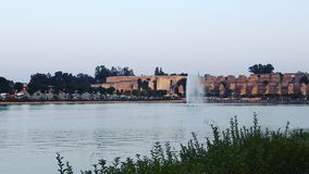 Meknes city. Moroccan city meknes one afternoon Royalty Free Stock Photography