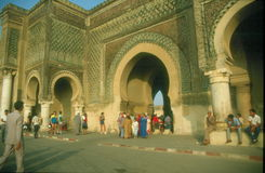 Meknes main gate Stock Photography