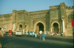 Meknes main gate Royalty Free Stock Images