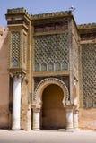 Meknes royal palace Stock Photography