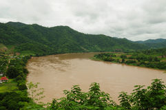 mekong εικόνας ποταμός Στοκ Εικόνες