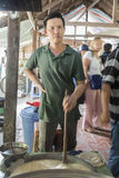Mekong νησιών καρύδων δέλτα Στοκ φωτογραφίες με δικαίωμα ελεύθερης χρήσης