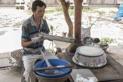 Mekong νησιών καρύδων δέλτα Στοκ εικόνα με δικαίωμα ελεύθερης χρήσης