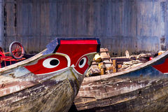 Mekong ποταμόπλοια Στοκ Εικόνα