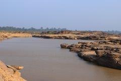 Mekong ποταμός Στοκ Εικόνες