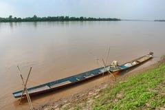 Mekong ποταμός Στοκ Φωτογραφία