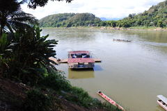 Mekong ποταμός Στοκ Φωτογραφίες