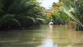 Mekong του δέλτα ποταμός Βιετνάμ Στοκ εικόνες με δικαίωμα ελεύθερης χρήσης