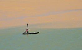 mekong ψαράδων ποταμός Στοκ Φωτογραφίες