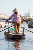 Mekong de delta, kan Tho, Vietnam Royalty-vrije Stock Fotografie