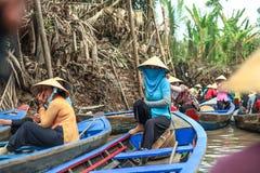 Mekong delta Stock Afbeelding