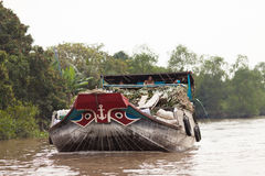 Mekong Delta, Cai Be Town, Vietnam Stock Photo