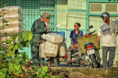 Vietnam streetlife Royalty Free Stock Images