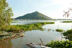Mekong delta i Vietnam royaltyfri bild