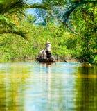 Mekong delta, Może Tho, Wietnam Zdjęcia Stock