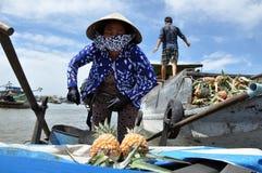 Mekong Delta, Vietnam Royalty-vrije Stock Foto