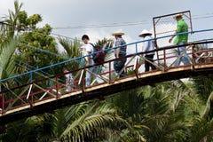 Mekong delta Vietnam Royaltyfria Foton